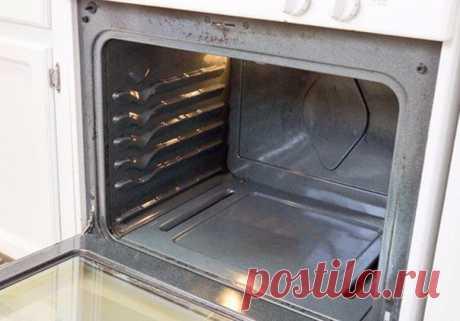Способ избавления от нагара в духовке