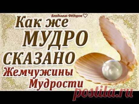 """""""Как же Мудро Сказано"""" Жемчужины мудрости! (Часть 7)"""