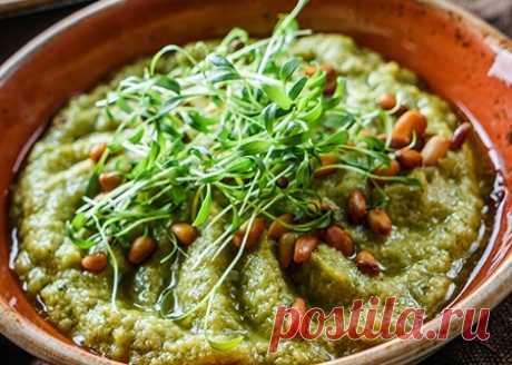 Хумус из брокколи | Veganle