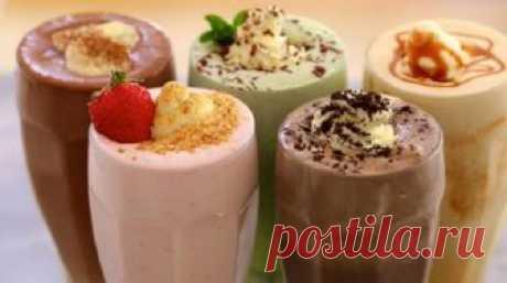 5 классных молочных коктейлей Среди них обязательно есть ваш любимый!