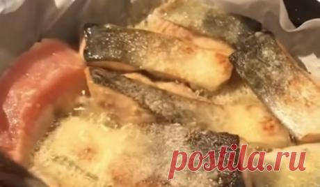 Жарю рыбу на бумаге: секрет готовки как у японцев