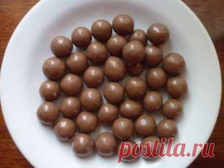 Как сделать шарики из шоколада для торта