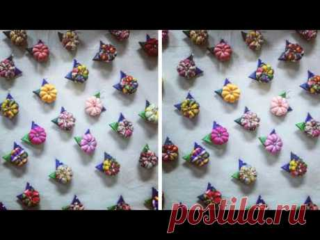 Very Beautiful button making at home
