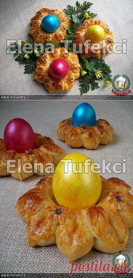 Булочки «Подставочки для яиц» (МК от Елены).