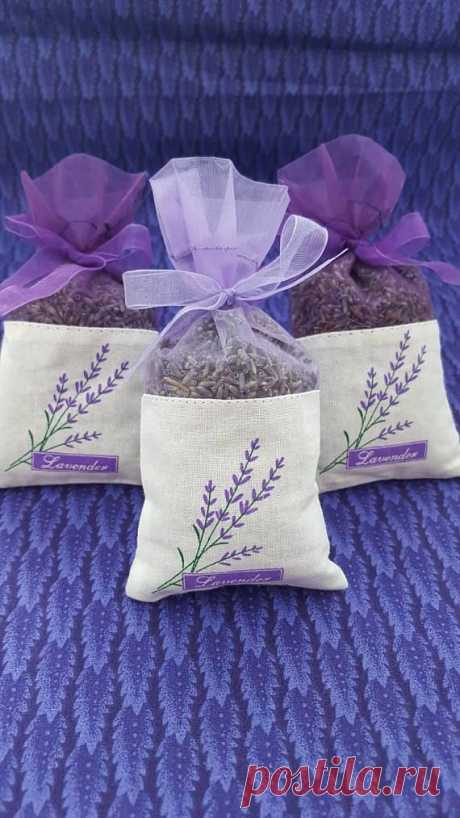 French Lavender Sachets 3 pack great for wedding toss