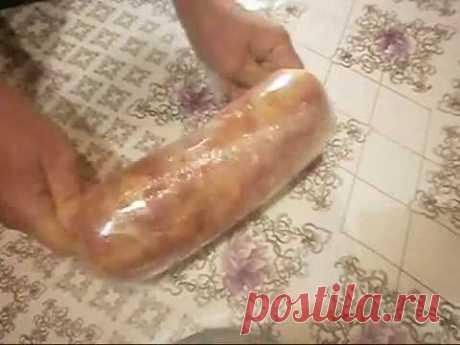 Домашняя ветчина из куриного мяса