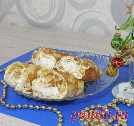 Вкуснейшая закуска на НОВЫЙ ГОД 2021 / Закуски из курицы / TVCook: пошаговые рецепты с фото