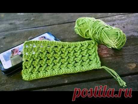 Узор для палантина крючком 🐛 Crochet tippet pattern
