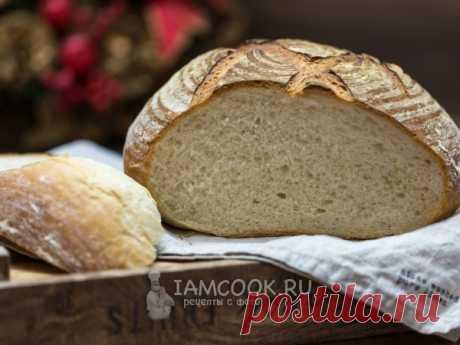 Круглый хлеб Этот пшеничный хлеб круглой формы на сухих дрожжах получается очень вкусным и нежным!