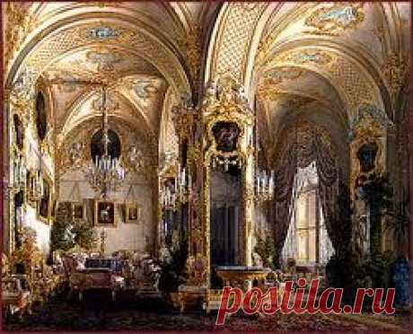 winter palace - Drawing room, Rococo style   Pinterest • el catálogo Mundial de las ideas