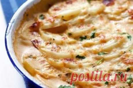How to make the baked French-fried potatoes - the recipe, ingredients and photos