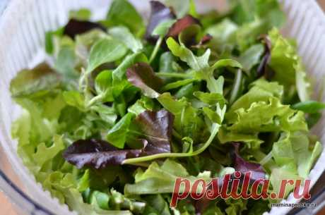 Салат с авокадо и перепелиными яйцами • домашний рецепт. С фото!