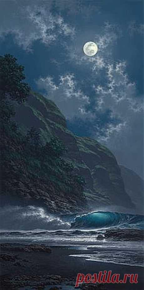 луна Луна, сколько загадок и мистики....