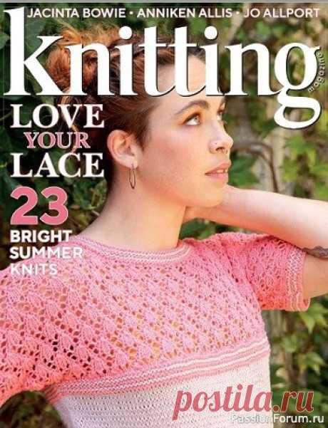 журнал Knitting Magazine №220 2021 | Вязание для женщин спицами. Схемы вязания спицами