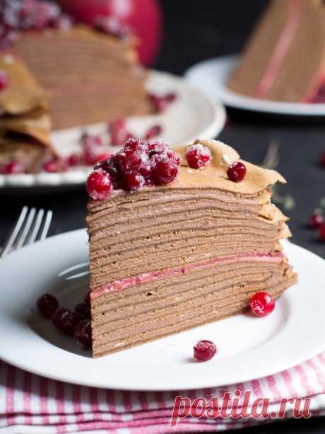 СМОТРИТЕ: Торт «КРЕПВИЛЬ». Это самый вкусный тортик в мире!