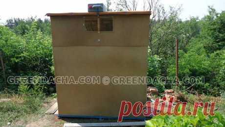 Как недорого построить туалет и душ на даче