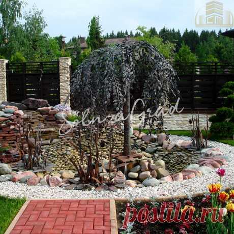 Кованое дерево - фонтан
