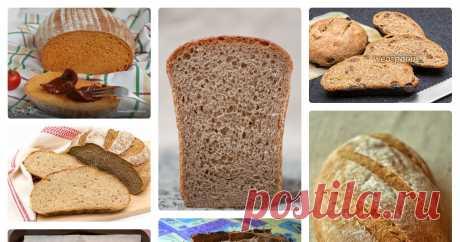Хлеб с ржаной мукой Автор — Светлана Б.