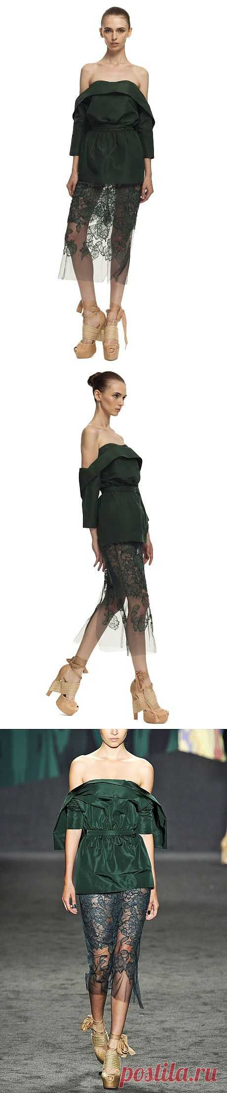 Vera Wang фактура юбки / Фактуры / Модный сайт о стильной переделке одежды и интерьера