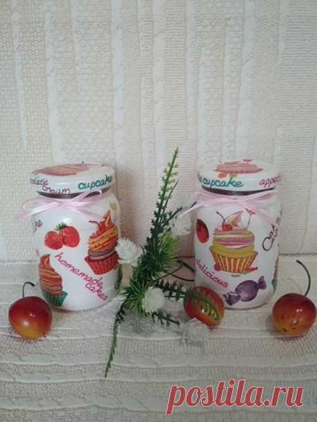 Набор баночек для хранения специй (Ручная Работа) за 60 грн. | Шафа