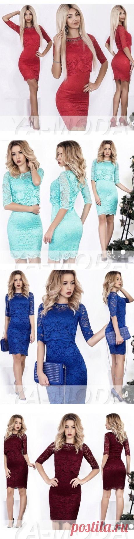Комплект платье и кофточка