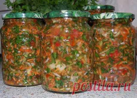 Самые вкусные рецепты: Заправка для солянок и рассольников