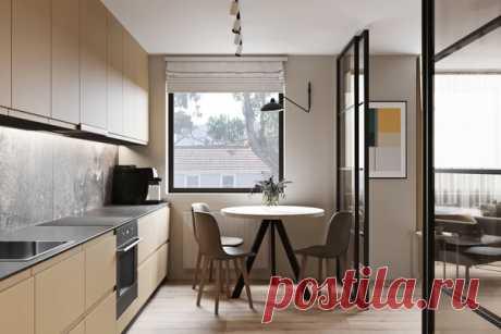 Трехкомнатная квартира, 65 м2 Дизайн: Артем Габриэльян Смотреть полностью: