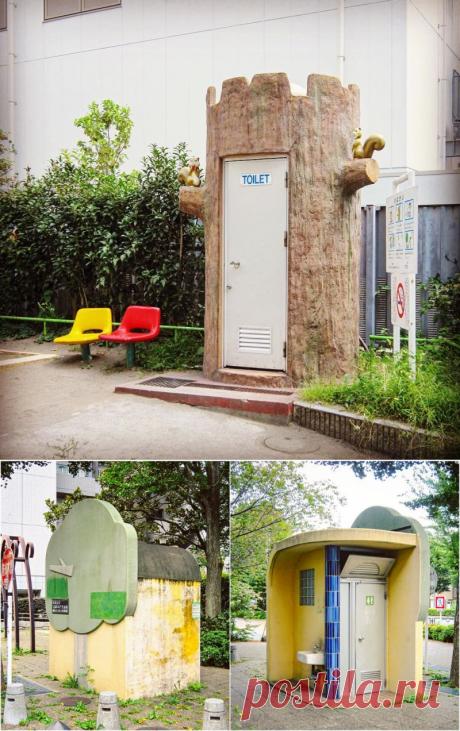 Удивительные и прикольные общественные туалеты Японии