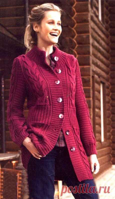 Теплое пальто- удобное и модное