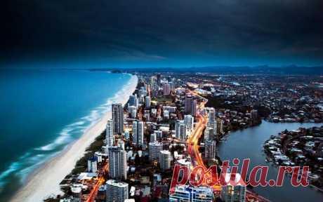Шикарный ночной вид в Австралии — Путешествия