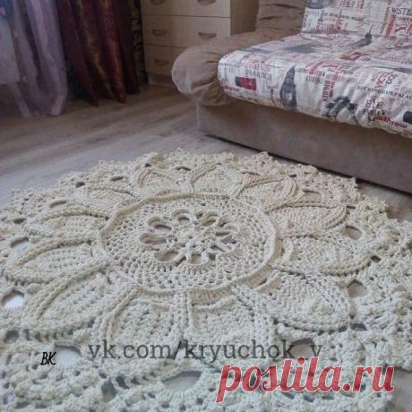 ТОП-20 идей для вязания ковров крючком. Только полюбуйтесь. | DIY Hand-Made | Яндекс Дзен