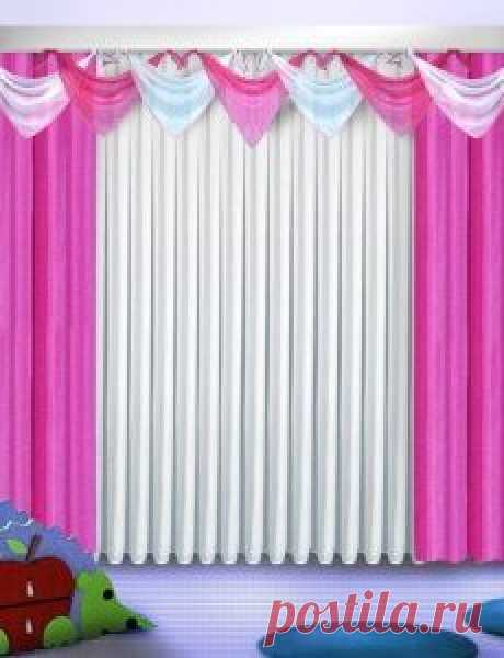 Curtains for a nursery, ready to buy at the favorable prices in a-secret.ru online store, the big catalog.