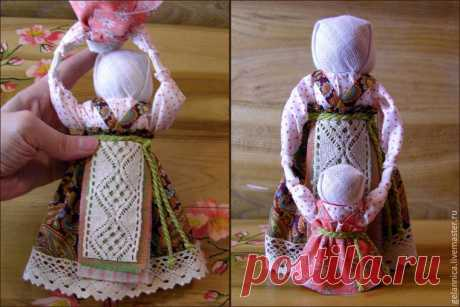 Мастер-класс «Народная кукла Ведучка» – Ярмарка Мастеров