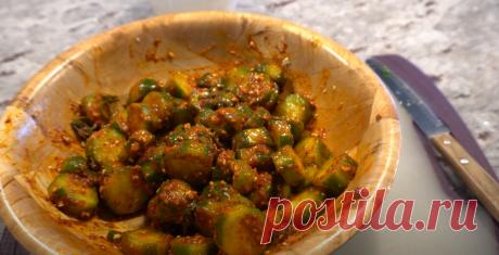 Проверила рецепт огурцов по-корейски: мне теперь свежих и не хочется | Вкусно без компромиссов🍵🍹🥙 | Яндекс Дзен