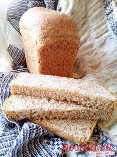 """Хлеб пшеничный цельнозерновой """"Вкус детства"""". Дополнила хлебом на растительном масле. - Страна Мам"""