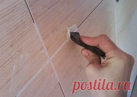 Изготовление затирки для плитки
