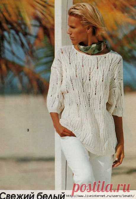 Pullovers and tunics warm spokes | Records in a heading Pullovers and tunics warm spokes | the Diary Marinichka