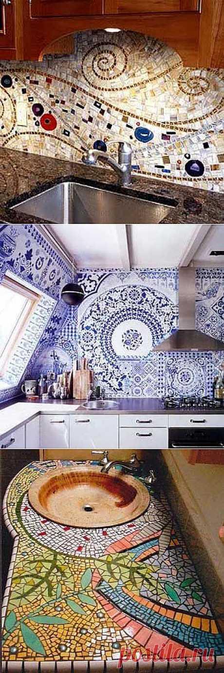 Мозаика для кухни: 14 идей и полезных советов - Учимся Делать Все Сами