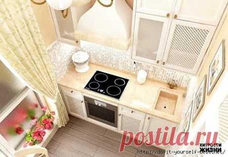 Дизайн кухни в 5 кв.м..