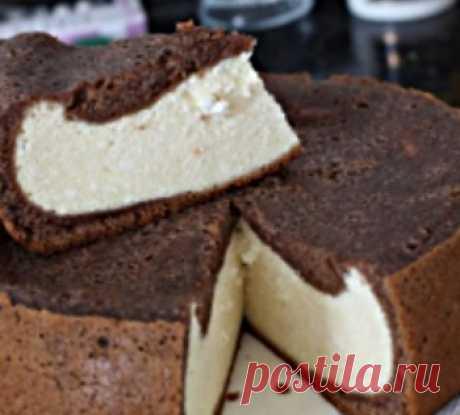 Шоколадный пирог с творогом в мультиварке рецепт | Дева-Лебедь