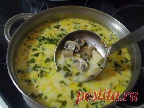 Самый вкусный грибной сливочный суп ! Сочетание сливок, плавленого сыра и грибов — так вкусно, просто пальчики оближешь Ингредиенты: шампиньоны — 200 грамм; картошка — 2 штуки; сливки (можно молоко) — 100 грамм; морковка — 1 штука; сырок плавленый — 70-100 грамм; лук репчатый — 1 штука; укроп — 1 пучок; соль — по вкусу;перец — по вкусу; растительное масло для жарки.