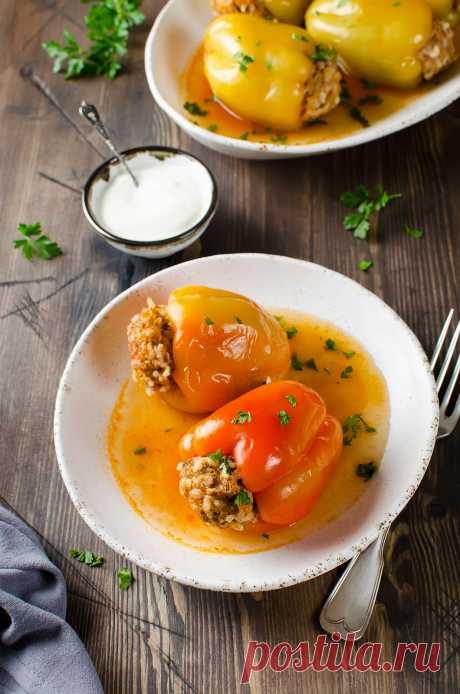 Фаршированный перец - разнообразные рецепты этого блюда