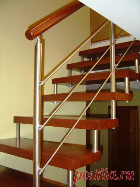 Лестницы, ограждения, перила из стекла, дерева, металла Маршаг – Перила для лестниц нержавеющие