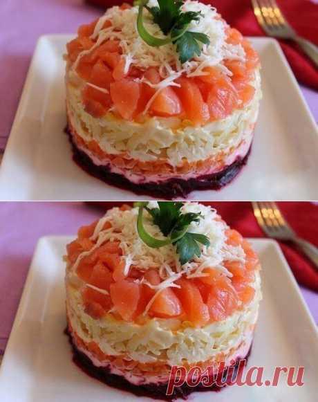 Лучшие кулинарные рецепты: Сёмга на шубе