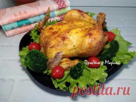 В гостях подали необычную курицу. Сначала даже не поняла, как её приготовили. Делюсь своим открытием | Просто с Марией | Яндекс Дзен