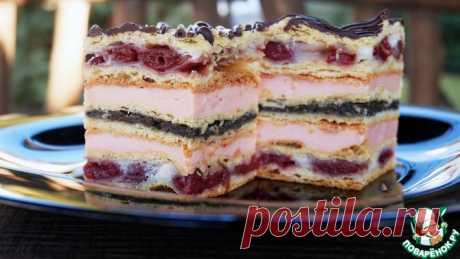"""Торт """"Взрыв вкуса"""" Кулинарный рецепт"""