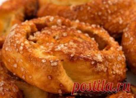 Ароматные Датские булочки с яблоком | просто здорово! | Яндекс Дзен
