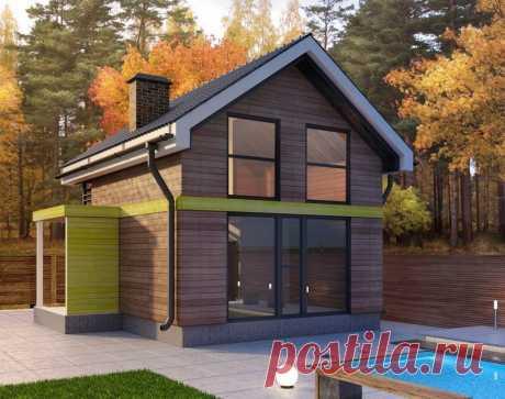 Миниатюрный дачный домик - Дизайн интерьеров | Идеи вашего дома | Lodgers