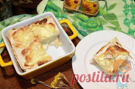 Болгарская баница из лаваша с творогом: любимый слоёный пирог - Пошаговые фото рецепты без дрожжей, без муки, без мяса, без масла, без яиц
