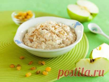 Рецепт вкусной овсяной каши с яблоком, изюмом и корицей в мультиварке | Polaris - о еде и гаджетах | Яндекс Дзен